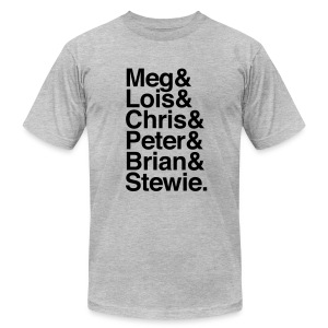 Family Guy - Men's T-Shirt by American Apparel