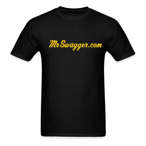 Cheap Men's Script Tee Shirt - Men's T-Shirt