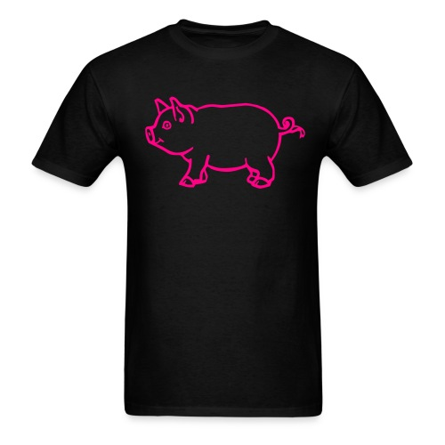 Adult Pig Shirt - Men's T-Shirt