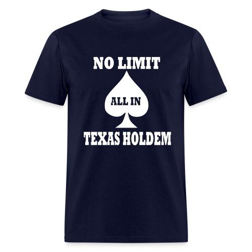 Texas Holdem... - Men's T-Shirt