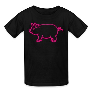 Childrens Pig Shirt - Kids' T-Shirt