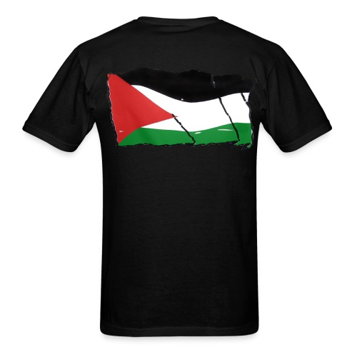 Free Palestine - Men's T-Shirt