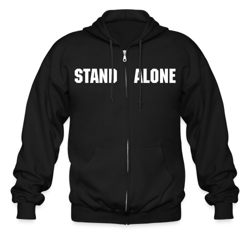 Stand Alone zip-up - Men's Zip Hoodie