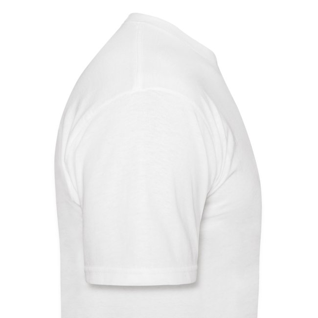Adult Size T Badge on White