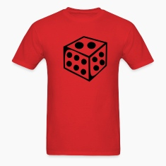 Red Dice - Number T-Shirts