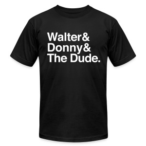 The Big Lebowski - Men's T-Shirt by American Apparel