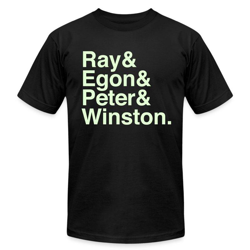 Ghostbusters (Glow in the Dark) - Men's Fine Jersey T-Shirt