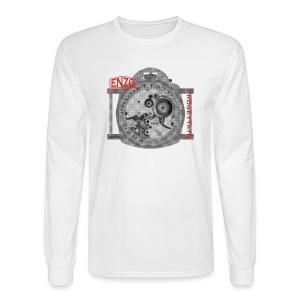 enzo vintage watch - Men's Long Sleeve T-Shirt