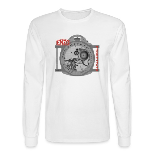 enzo vintage watch - Men's Long Sleeve T-Shirt