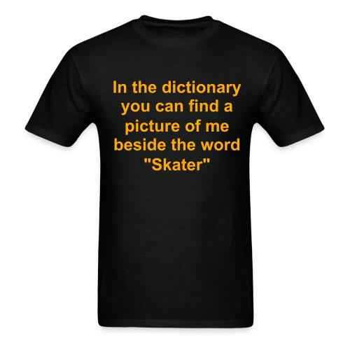 Dictionary Pic Tee - Men's T-Shirt