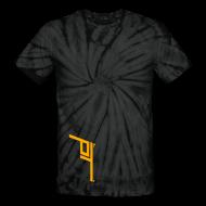 T-Shirts ~ Unisex Tie Dye T-Shirt ~ Appendix Carry Pattered Tee (multiple colors)