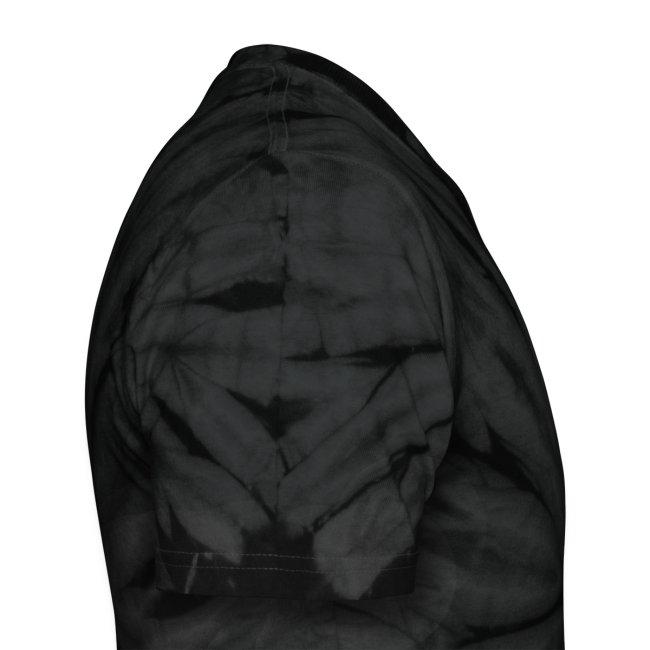 Black Tie-Dye Jesus Fish T-Shirt, Glow in the Dark, Cool Christian T-Shirt