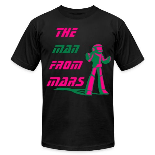 Banned from Mars - Men's Fine Jersey T-Shirt