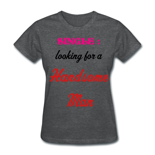 Lifewear - Single: looknig handsome man - Women's T-Shirt