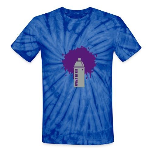 funky tie dye - Unisex Tie Dye T-Shirt