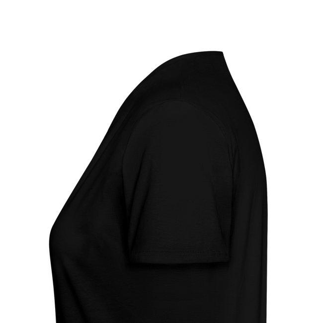 ITALIA Women's V-Neck T, Black