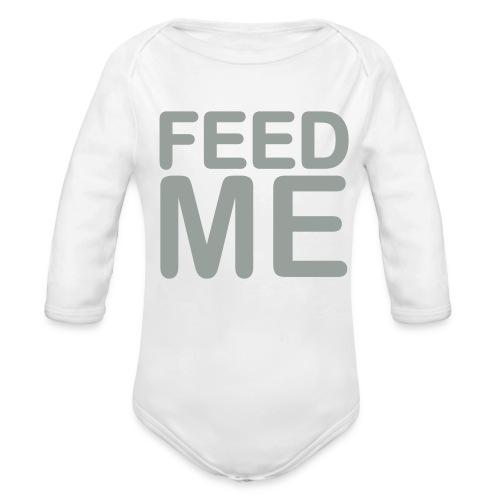 Feed ME - Organic Long Sleeve Baby Bodysuit