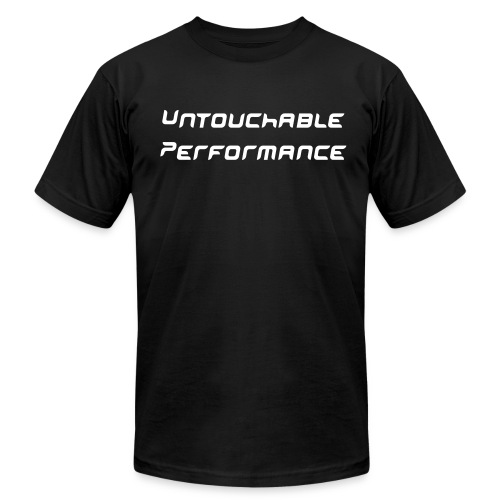 Untouchable Performance Simple Black Shirt - Men's Fine Jersey T-Shirt