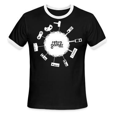 Black/white retrogamer T-Shirts