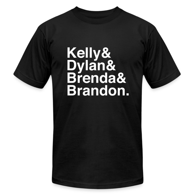 90210 (Old) - Men's Fine Jersey T-Shirt