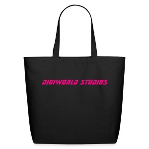 DIGIWORLD BLK-TOTE - Eco-Friendly Cotton Tote