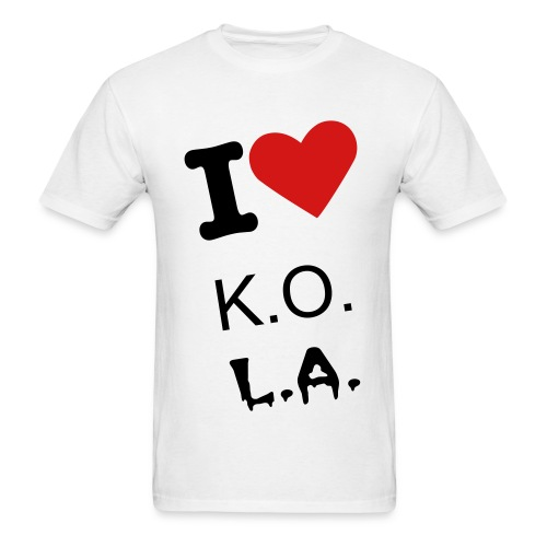 I LOVE KIDS OF LOS ANGELES - Men's T-Shirt