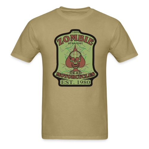 Zombie Motorcycles - Men's T-Shirt