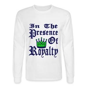 Royalty Long Sleeve Tee - Men's Long Sleeve T-Shirt