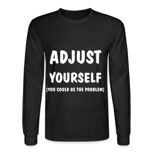 Adjust sweartshirt  - Men's Long Sleeve T-Shirt