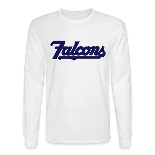 Falcons Long Sleeve Tee - Men's Long Sleeve T-Shirt