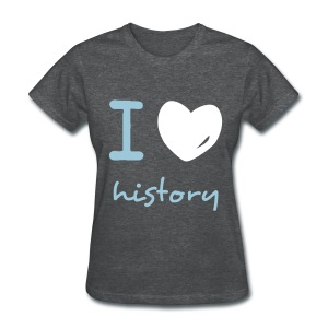 i heart history - Women's T-Shirt