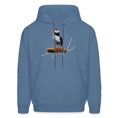 Puffin on a Roach - Men's Hoodie