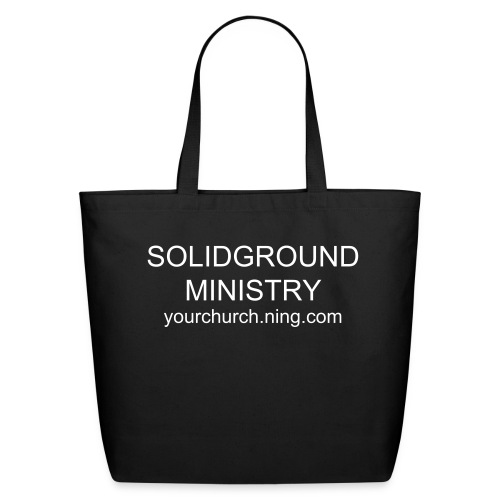 SolidGround T-shirts - Eco-Friendly Cotton Tote