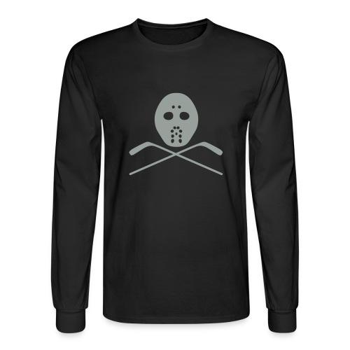 Hockey Goalie 9 - Men's Long Sleeve T-Shirt