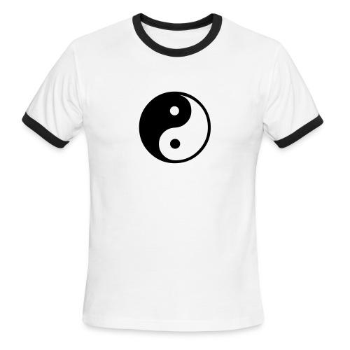 Yin-Yang T-shirt - Men's Ringer T-Shirt