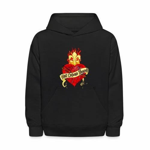 New Orleans Forever! Kid's Hooded Sweatshirt - Kids' Hoodie