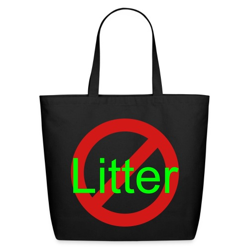 Creature Wear- Eco-Friendly Cotton Tote Anti-Litter - Eco-Friendly Cotton Tote