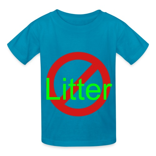 Creature Wear- Children's T-Shirt Anti-Litter - Kids' T-Shirt