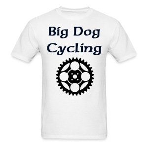 Big Dog Cycling - Men's T-Shirt