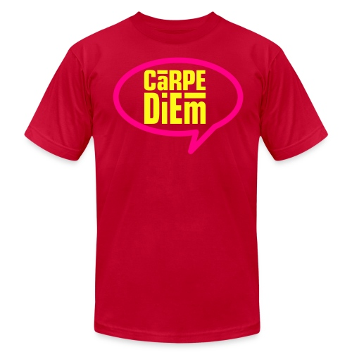 Carpe Diem Speech Tee - Men's Fine Jersey T-Shirt