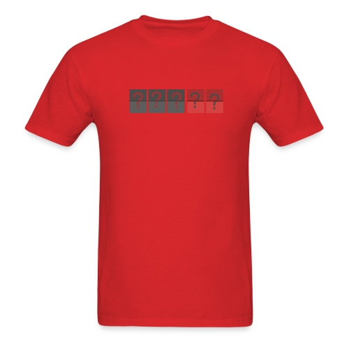 Lost Countdown Question Marks T-Shirt - Men's T-Shirt