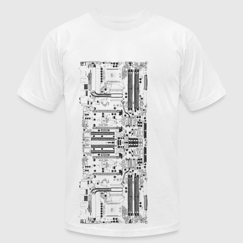 Computer Motherboard Design T Shirt Spreadshirt