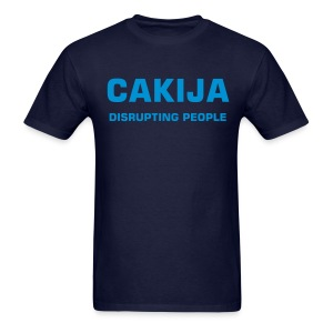 CAKIJA disrupting people Croatia - Men's T-Shirt