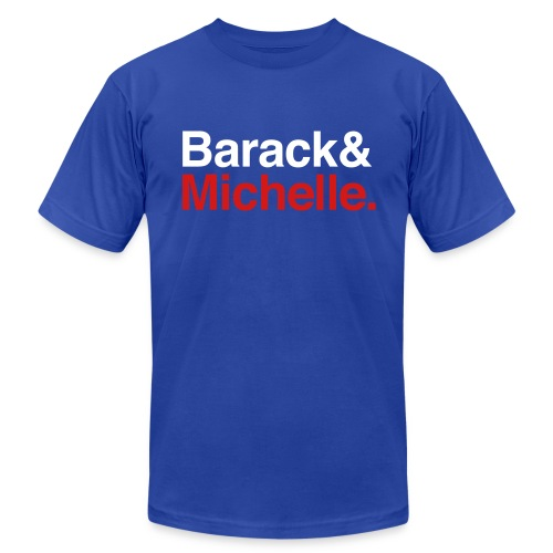 Barack & Michelle Obama - Men's  Jersey T-Shirt