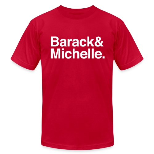 Barack & Michelle Obama - Men's Fine Jersey T-Shirt