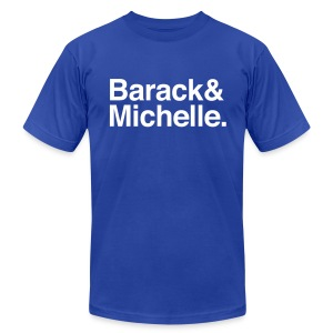 Barack & Michelle Obama - Men's Fine Jersey T-Shirt