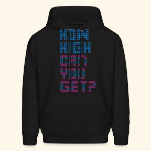 How high can you get? - Men's Hoodie