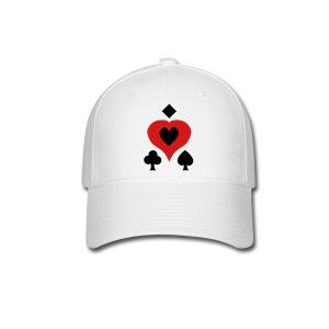 Playing Card Shapes - Baseball Cap