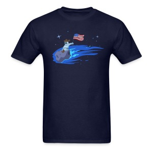 Space Cowboy - Men's T-Shirt