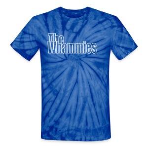 Groovy! Blue! - Unisex Tie Dye T-Shirt